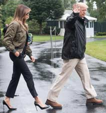 Melania & Donald Trump - GraniteWord.com