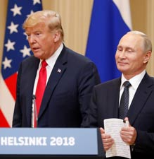 Donald Trump, Vladimir Putin in Helsinki - GraniteWord.com