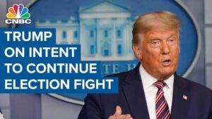 Donald Trump, Election Fraud