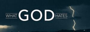 Things God Hates